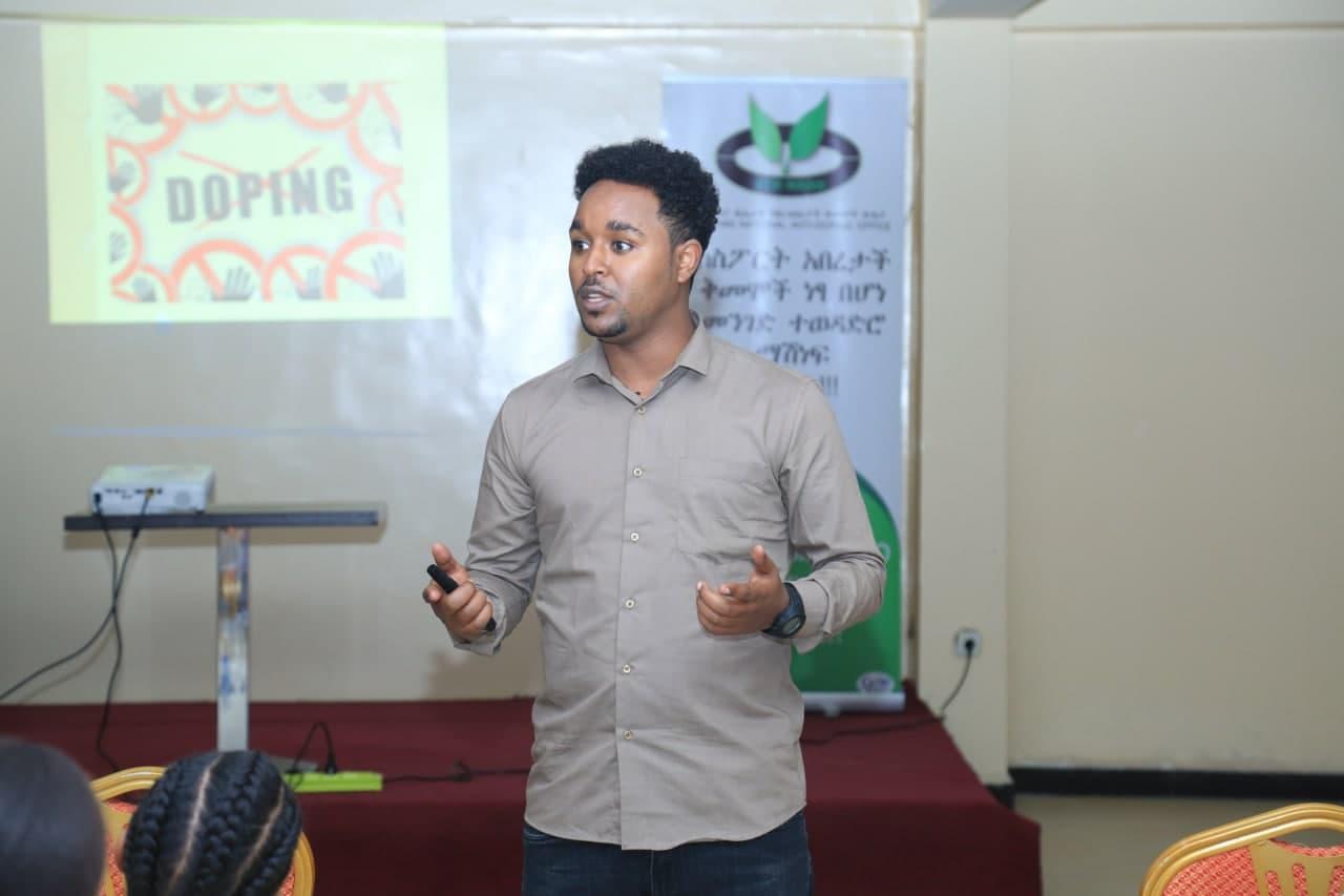 Anti-Doping awareness creation training for Ethiopian National Athletics Team